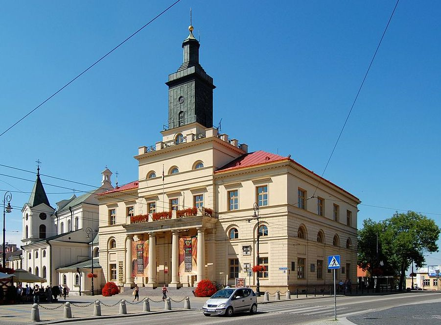 New Town Hall, Lublin, Poland